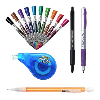 Today you can save up to 35% on Bic pens, pencils, highlighters, and more