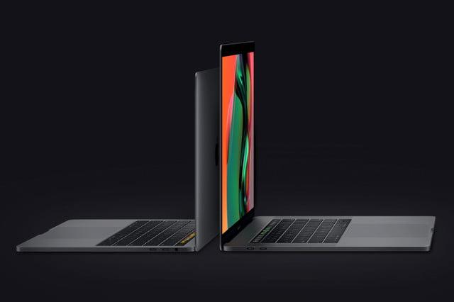 new macbook pro 8th generation cpu both sizes