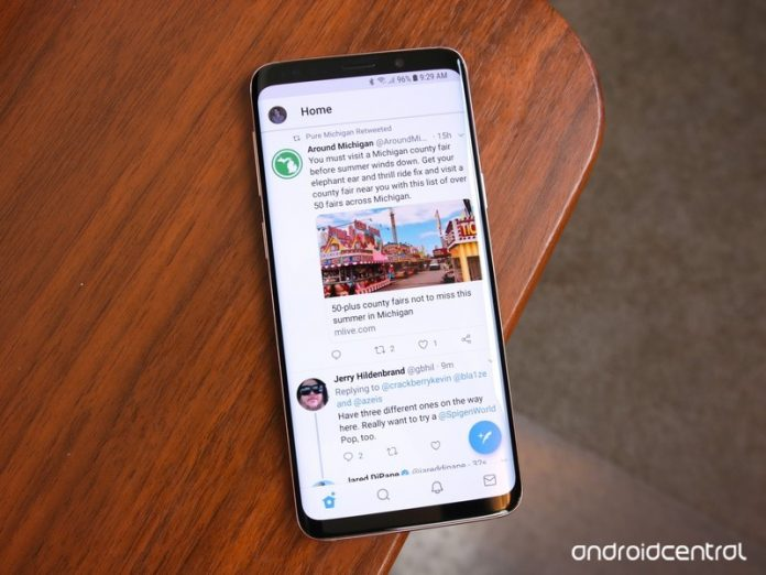 Twitter Android app is being updated with a bottom navigation bar