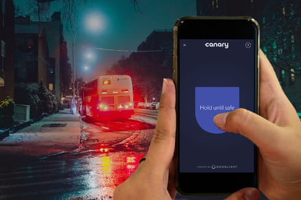 Canary's Safety Button adds personal security when you're away from home