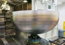 Lockheed Martin 3D printed an impressive titanium dome for satellite fuel tanks