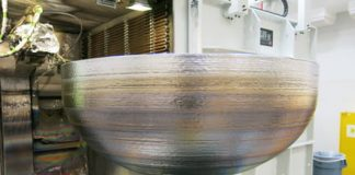 Lockheed Martin 3D printed an impressive titanium dome for satellite fuel tanks