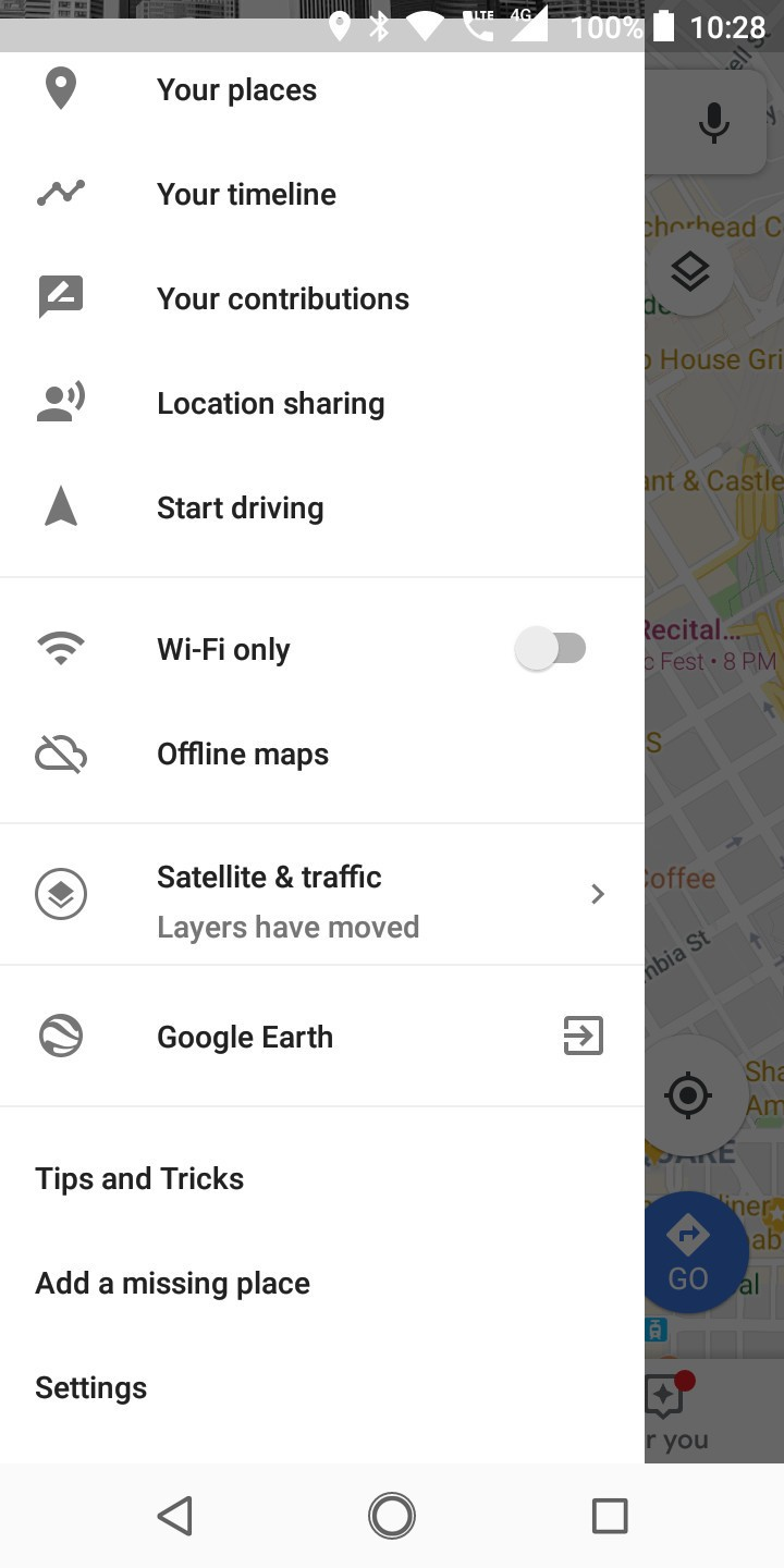 How to clear search and location history in Google Maps on Android Clear Google Map History on