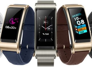 Mad Huawei TalkBand is a Bluetooth earpiece worn in the ear, and on your wrist