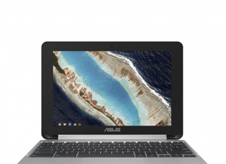 This $250 Asus Chromebook Flip can be used in tablet, stand, or laptop mode