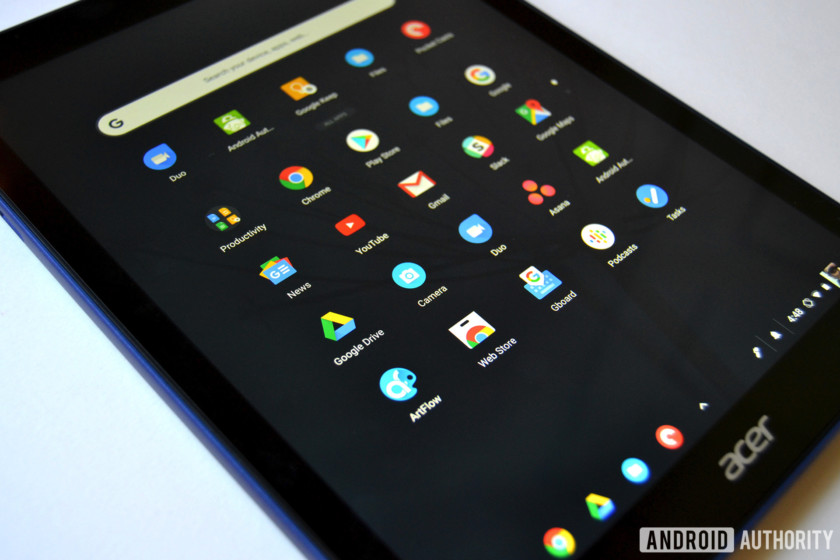 chromebook tab 10 review chrome os apps