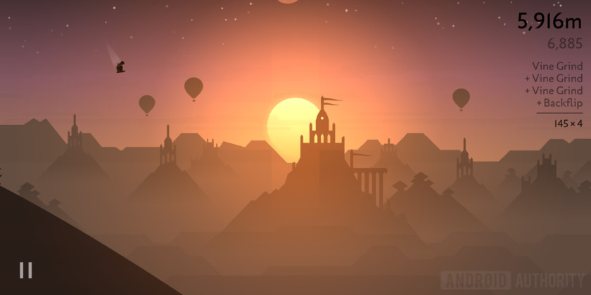 Alto's Odyssey review temple scenery