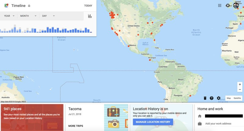 Clear Map Of Australia.How To Clear Search And Location History In Google Maps On The Web