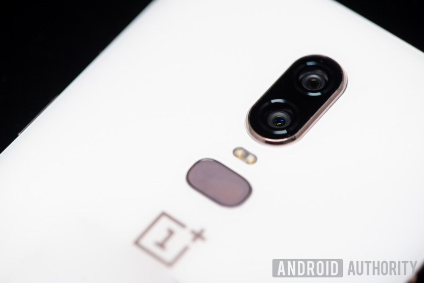 oneplus 6 camera sensors back fingerprint sensor
