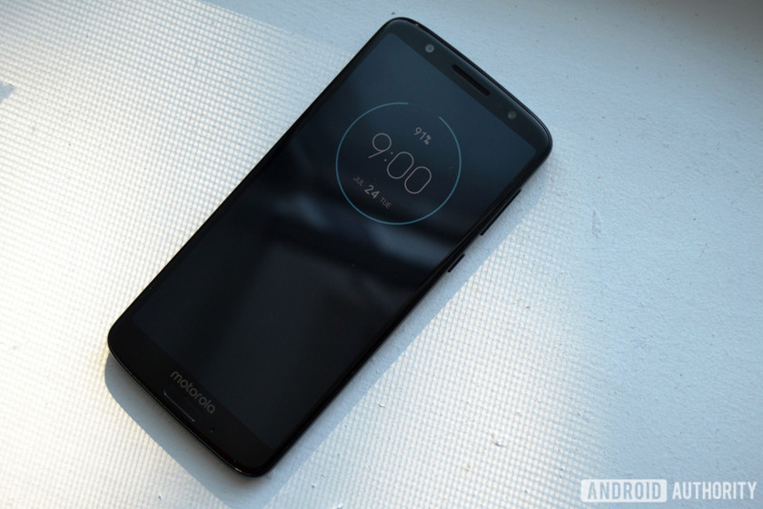 motorola moto g6 review ambient display screen