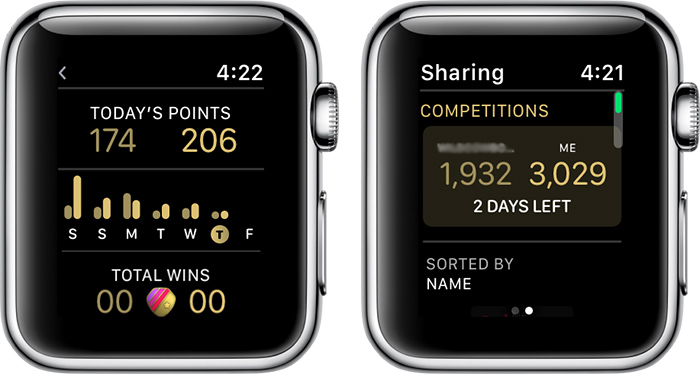 How to Start an Activity Competition With a Friend in watchOS 5 - AIVAnet