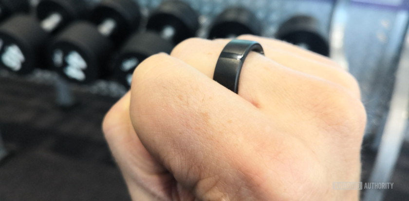 Motiv Ring in gym, Motiv Ring review
