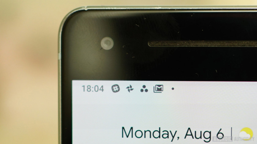 Android 9 Pie review app notification icons status bar