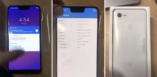Google Pixel 3 XL Production Unit Leak Reveals Taller iPhone X-Like Notch