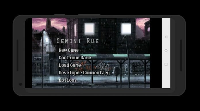 Gemini Rue review: a game that really knows how to weave a story