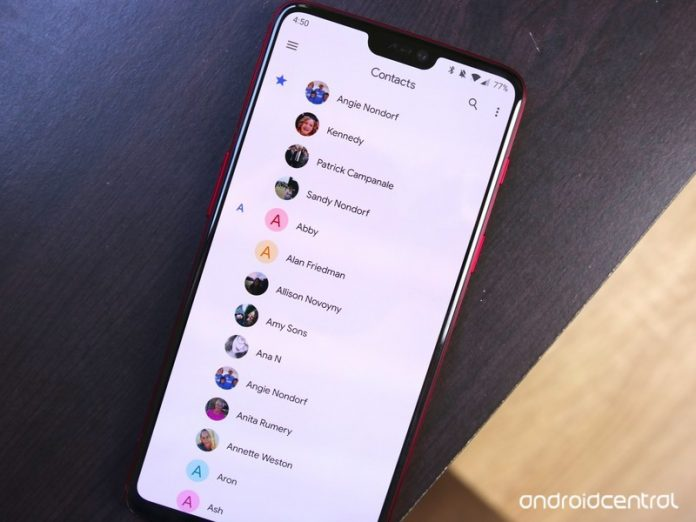 Google Contacts 3.0 adds new Material Theme UI