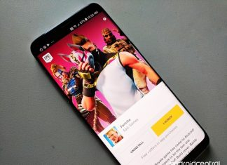 Google now warns players that Fortnite isn't available on the Play Store