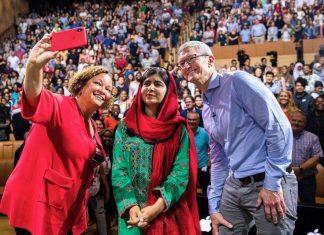 Apple Hosts Nobel Prize Laureate Malala Yousafzai for Talk at Apple Park