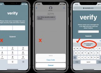 How to Use Secure Code AutoFill in iOS 12 and macOS Mojave