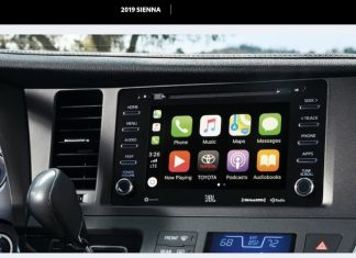 Toyota Confirms CarPlay in 2019 Sienna