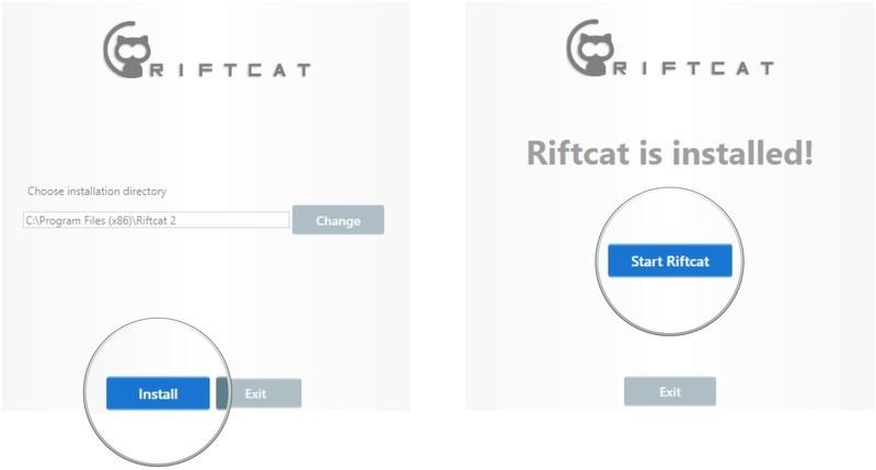 VRidge has added better Oculus Go controller support for