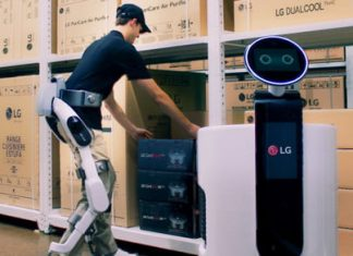 LG's SuitBot wearable exosuit will give workers the extra strength they need