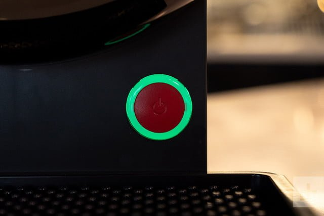 krups sub home beer dispenser button