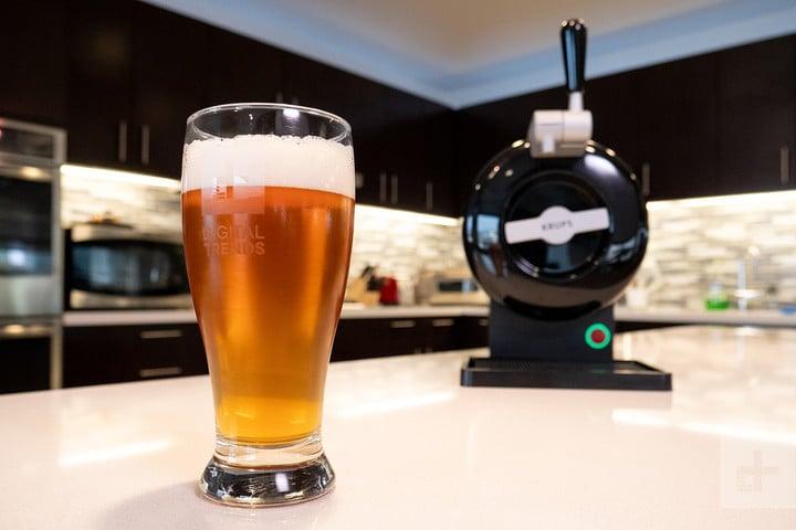 krups sub home beer dispenser beer close