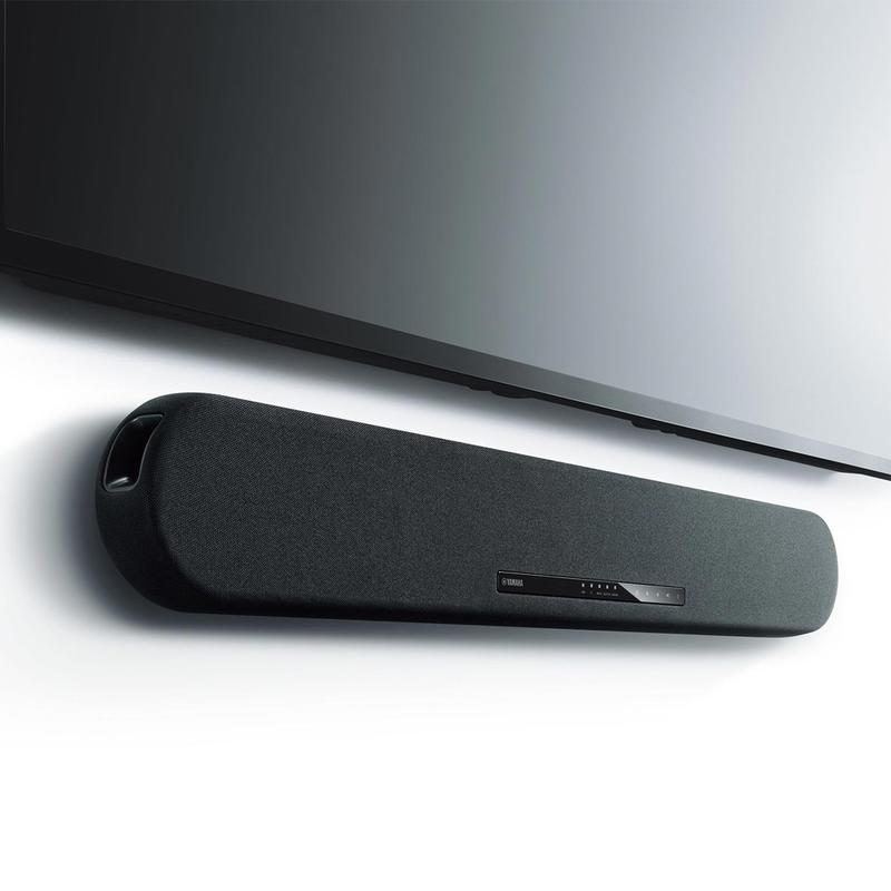 Experience virtual 3D surround sound with this slim $170 Yamaha Sound Bar