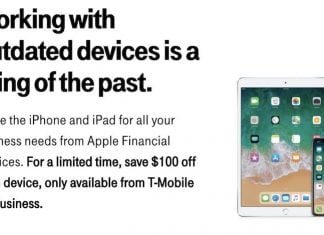 T-Mobile Partners With Apple to Launch iPhone and iPad Leasing Program for Businesses