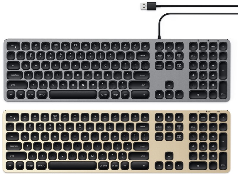 b473e9f9012 Both of the keyboards can be purchased in silver today from the Satechi  website or Amazon.com, while the space gray, gold, and rose gold options  can be ...