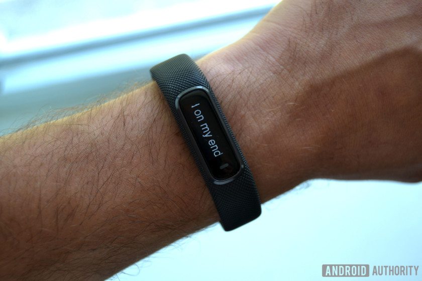 garmin vivosmart 4 review app notifications