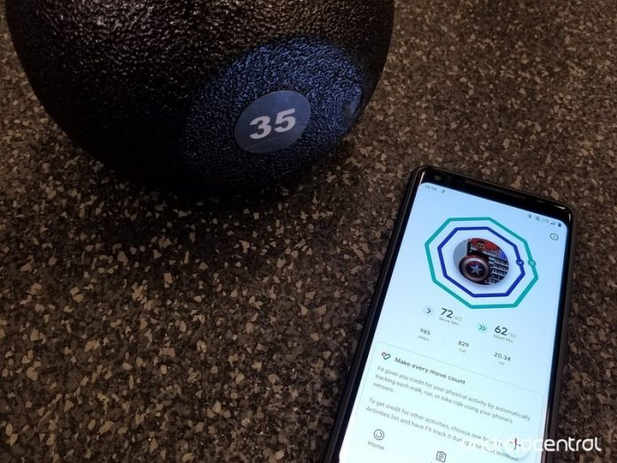 How to measure calories or kilojoules burned in Google Fit