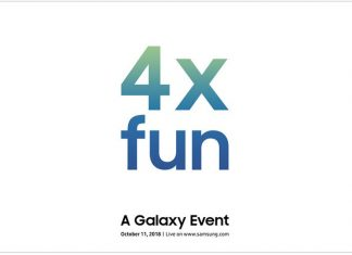 Samsung may launch a Galaxy phone with four cameras on October 11