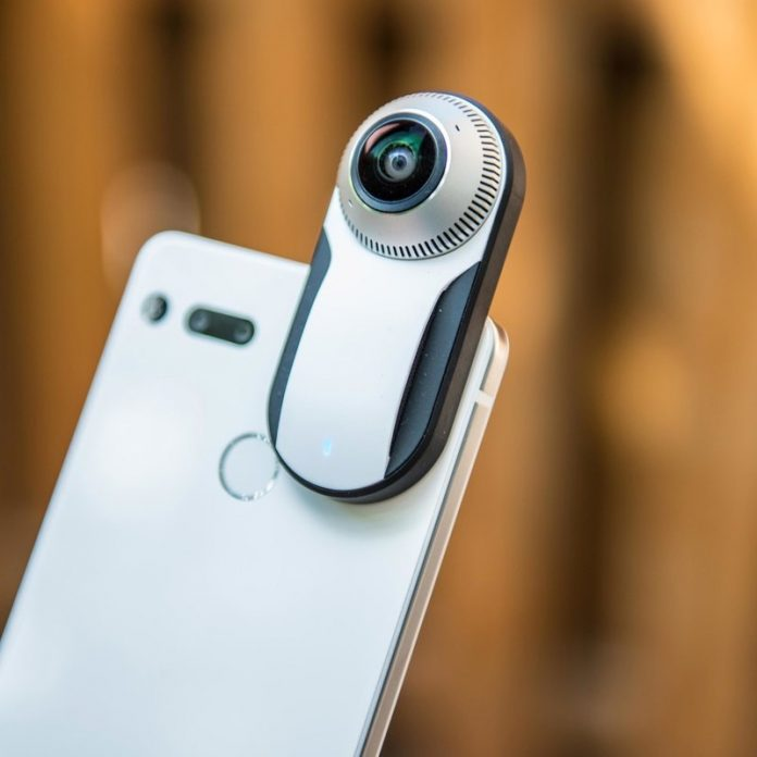 Attach this 360-degree camera to your Essential Phone for just $40