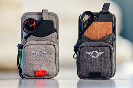 Photo FOMO: Recharge and stash lenses with this smartphone photo bag