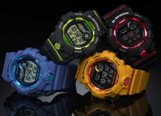 Just $100 buys you this super tough, and very cool G Shock fitness watch