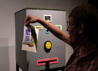 Crazy vending machine swaps computer art for your permanent selfie