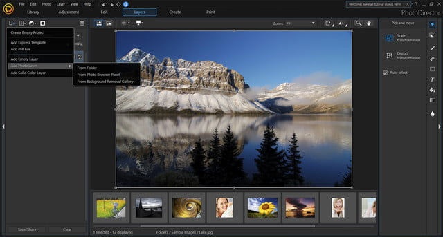 cyberlink photodirector powerdirector 2018 announced new layers copy
