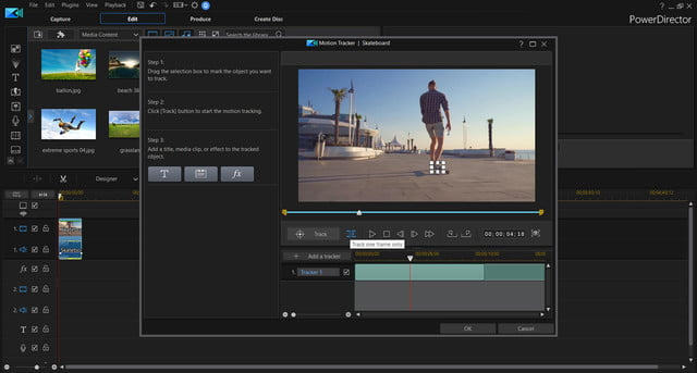 cyberlink photodirector powerdirector 2018 announced motion tracking