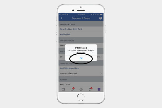 how to send money on facebook fbmoneypin5