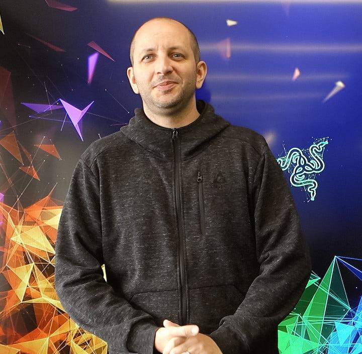 Stephane Blanchard, Razer's director of industrial design