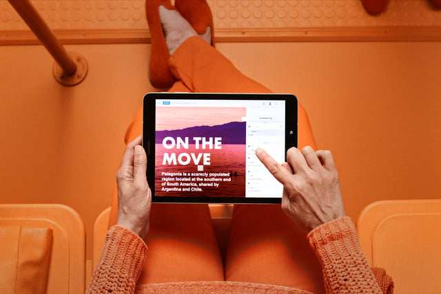 adobe acrobat dc modernized reviewing on tablet high res copy