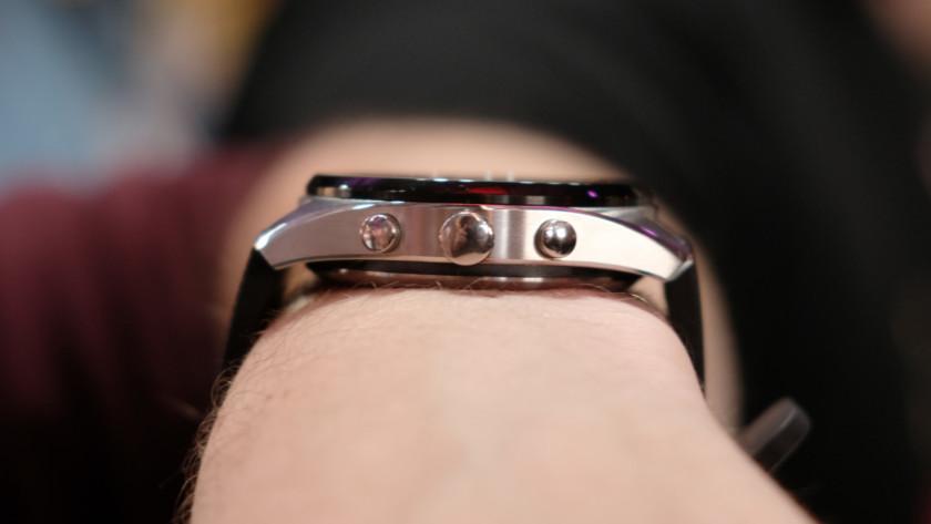 LG Watch W7 thickness