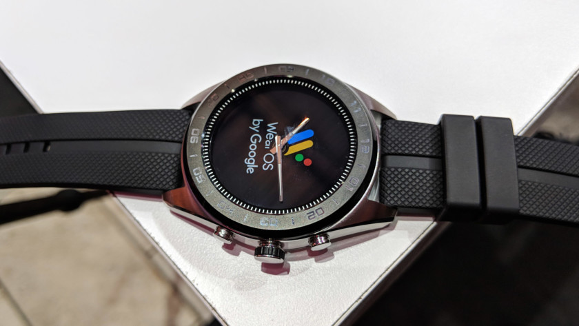 LG Watch W7 on table