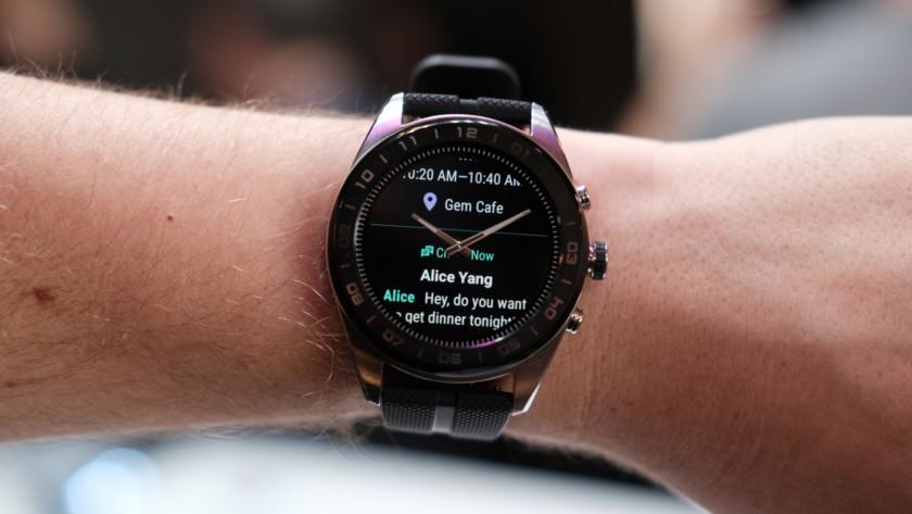 LG Watch W7 notifications