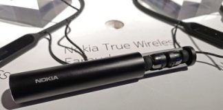 The Nokia True wireless earbuds have a miniscule form factor