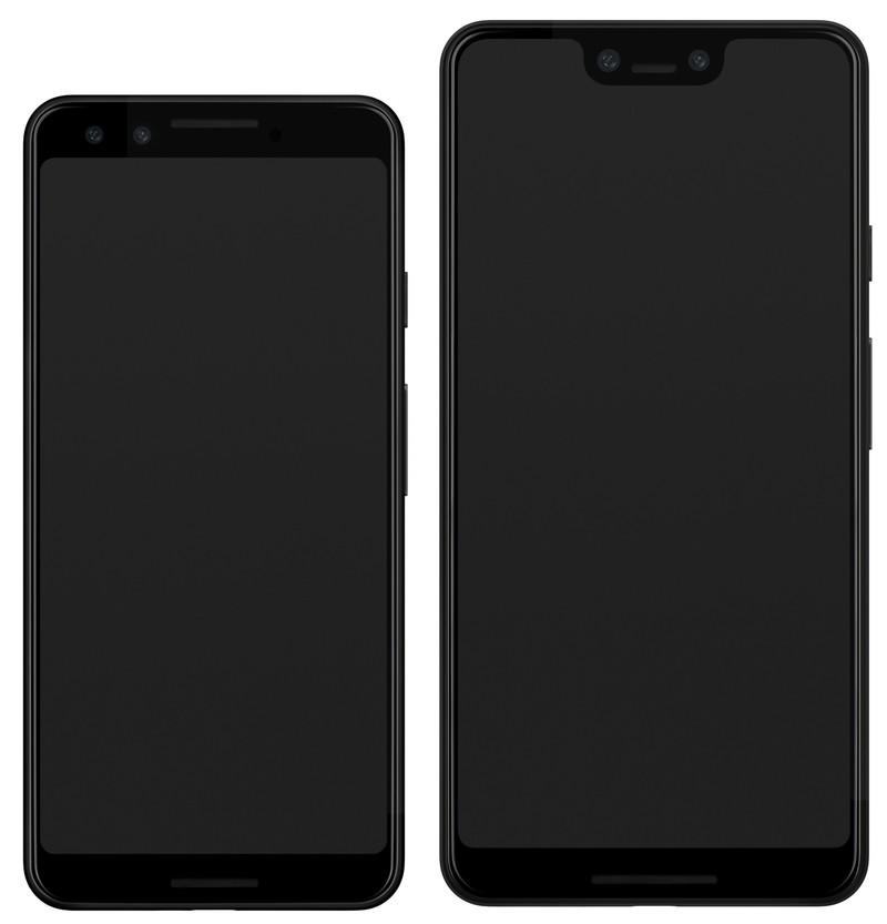 evan-blass-pixel3-pixel3xl-front-renders