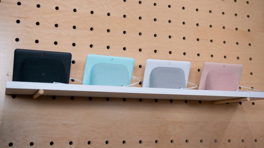Google Home Hub colors