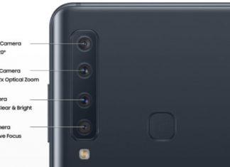 Meer bekend over de 4 camera's op Samsung Galaxy A9 Star Pro